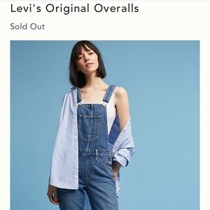 Levi's Overalls Size Small